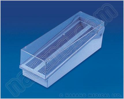 Buy Plastic Coplin Jar Slide Box Plastic Coplin Jar